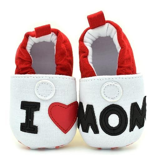 Scarpine neonati Inception Pro Infinite ® - S5 - Zapatos de Bebé Me encantan Mamá y Papá - 20.5 7XtTa4