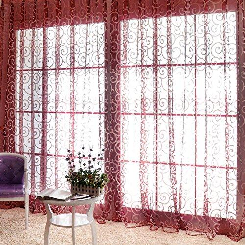 Edal Fashion Floral Curtains Valances