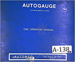 Autogauge automec cnc 1000 g24 system operators manual automec flip to back flip to front fandeluxe Image collections