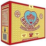 ROOIBOS ROCKS ROOIBOS TEA - 100 USDA ORGANIC TEA BAGS, South African Caffeine Free Red Tea - Pure, Natural, Healthy Living, Gluten Free, Calorie Free and Sugar Free, Antioxidant Rich, Herbal Tea Drink