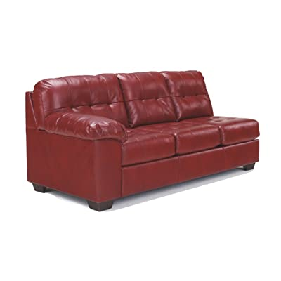 Ashley Furniture Signature Design - Alliston Contemporary Left Arm Facing Sofa - Sectional Component Only - Salsa