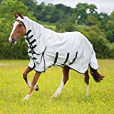 Shires Highlander Plus Sweet-Itch Combo Fly Rug 7ft3 White