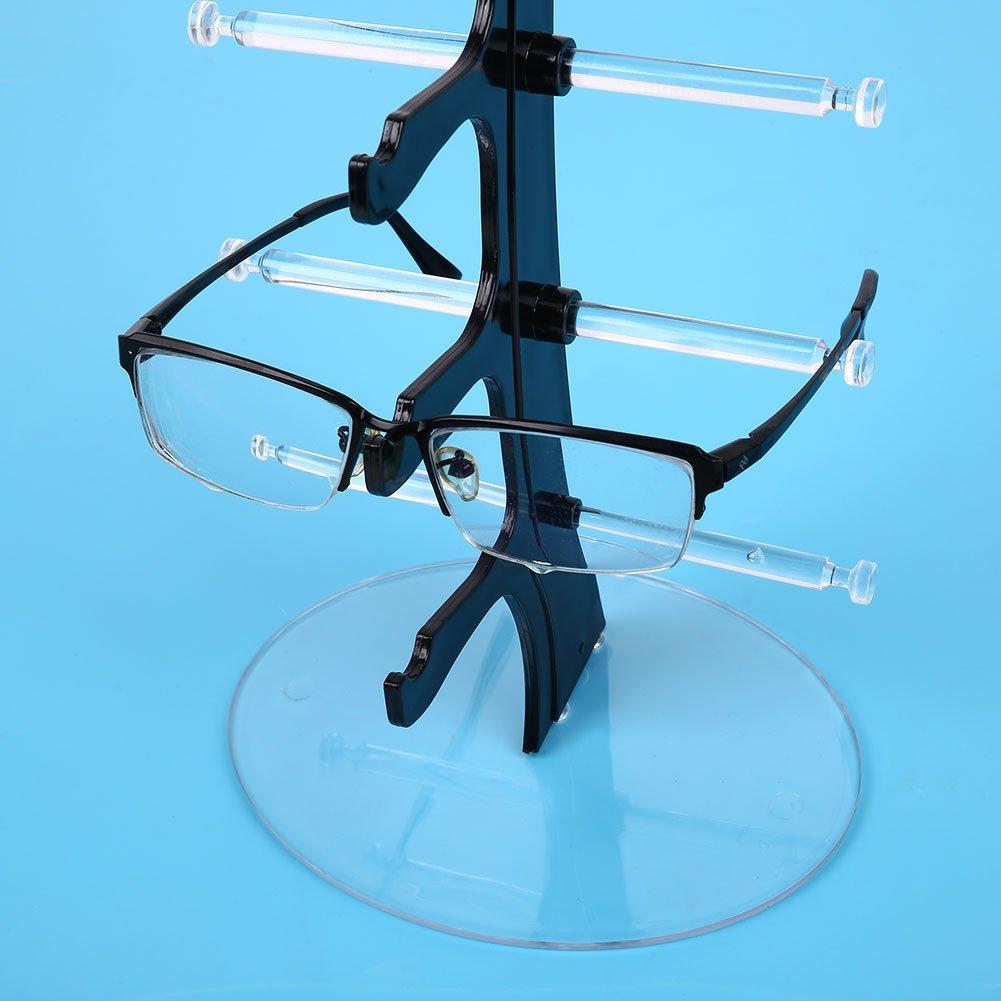 Kicode TOPmountain Gafas de Sol Gafas de Rack Soporte de exhibici/ón Mostrar estanter/ías de Las Lentes Gafas Vidrio de Sun del Organizador del almacenaje Brillen Sun-Glas-Speicher-Organisator