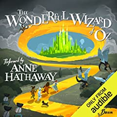 Audie Award Nominee, Solo Narration - Female, 2013    One of the best-known stories in American culture, The Wonderful Wizard of Oz has stirred the imagination of young and old alike for over 100 years. Academy Award-winning actress Anne Hath...
