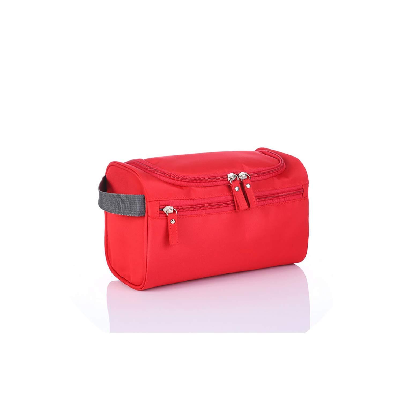 Beibay Men Women Cosmetic Bag Make Up Organizer Daily Toiletry Bag Hand Bag Makeup Bag Waterproof,Onesize,Purple