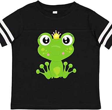 Girl Frog Frog Wearing a Crown Baby T-Shirt inktastic Frog Princess