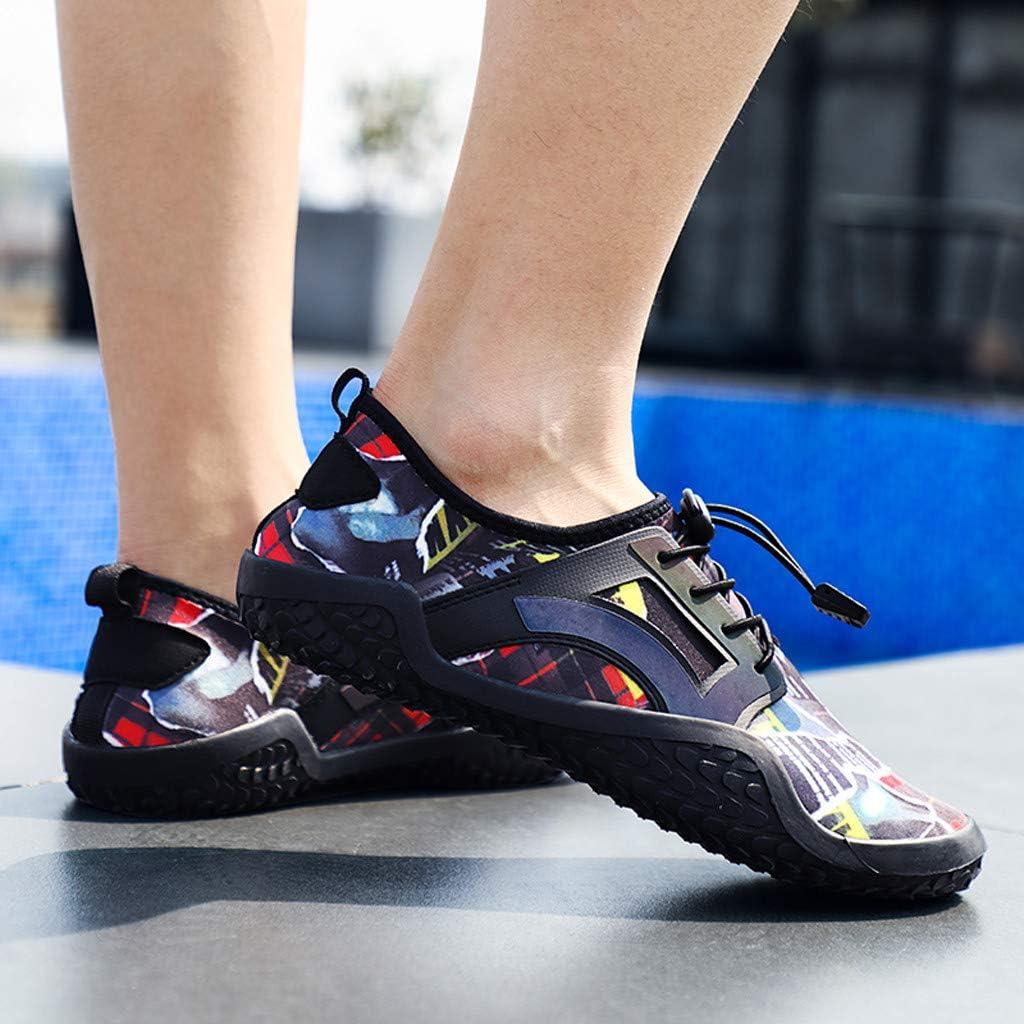 Zapatos Verano Mujer Hombre Unisex Zapatos de Agua 2019,EUZeo,Zapatillas para Playa Vela Buceo Acuáticos Calzado de Natación Cycling Piscina Surf Escarpines Moda Deportes 39-48: Amazon.es: Ropa y accesorios
