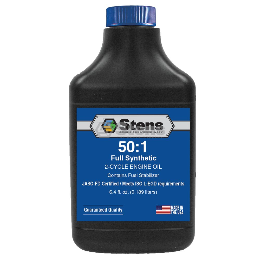 Full Synthetic 50:1 2-Cycle Engine Oil Mix / 6.4 Ounce Bottle/24 Per Case by Stens