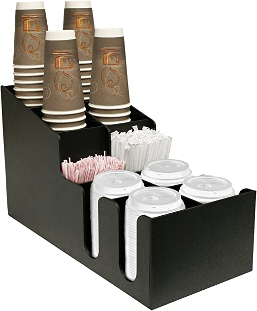 Coffee Cup Dispenser or Lid Holder /& Made by PPM. Proudly Made in The USA 20 or 24oz and One Size Lid Fits All Holds 12 oz,16