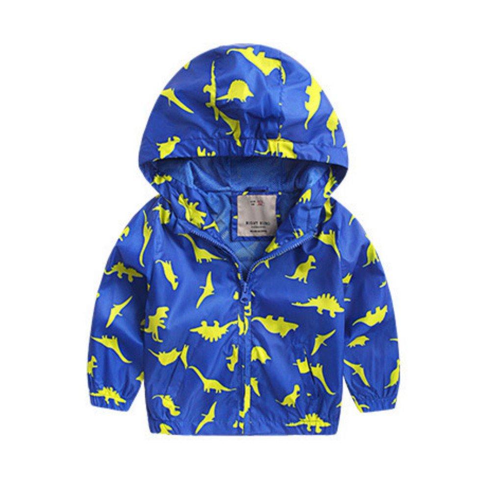 Zhengpin Child Baby Boy Hooded Coat Autumn Jackets Winter Jacket Kids Windbreaker