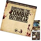 Zombie 2014 Wall Calendar