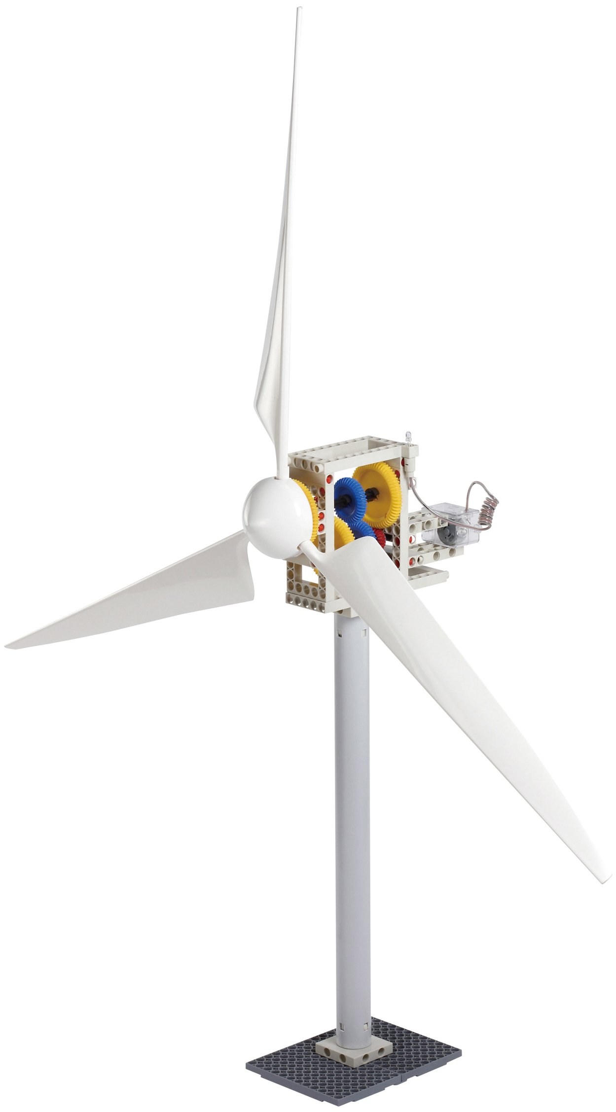 Thames & Kosmos Wind Power 2.0 Science Experiment Kit | Build Wind-Powered Generators to Energize Electric Vehicles | 3-Foot-Tall Long-Bladed Turbine | Experiments in Renewable Energy by Thames & Kosmos (Image #5)