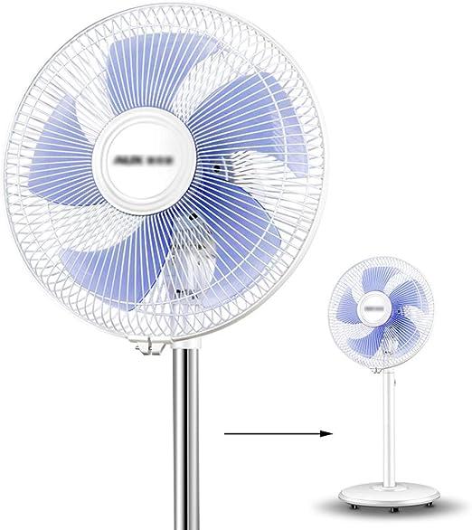 ZFSS Ventilador de pie Características en Blanco Ventiladores de ...