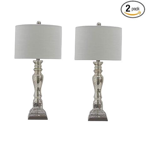 Amazon.com: Martin Richard W-5159-2PK - Lámpara de mesa ...