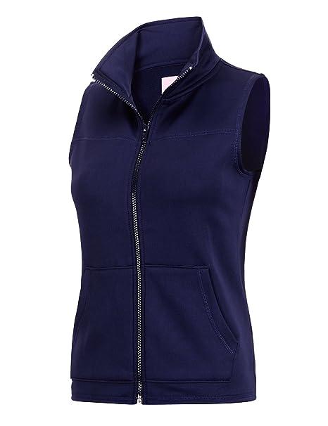 regna x womens plus size windproof full zip up fleece vest jacket