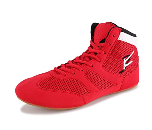 74e56ea2ed9 Day Key Breathable Wrestling Shoes Boots for Men Women Kids  Amazon ...