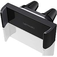 Lamicall Handyhalter fürs Auto, Handy Autohalterung : Universal 360 Grad Drehung KFZ Lüftung Halter für Phone 11 Pro, Xs Max, XR, X, 8, 7, 6S, Samsung S10 S9 S8 S7 S6, Huawei, Smartphone - Schwarz