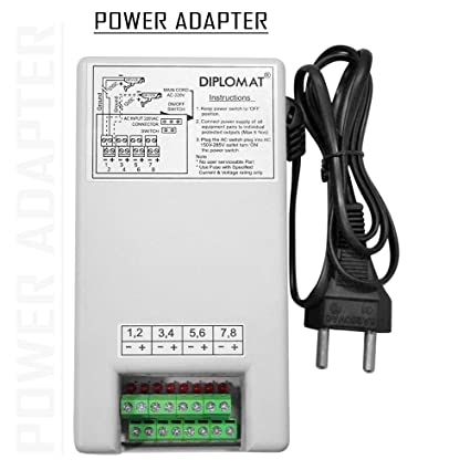 Amazon.in: Buy Elove 5 Amp (12VDC) 8 Channel Power Adapter Supply ...