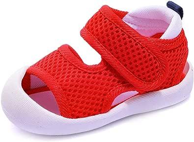 ni/ñas transpirables correr piscina color playa de malla para correr Zapatos de agua para ni/ños peque/ños talla para ni/ños