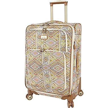 Nicole Miller NY Luggage Sedona 24  Expandable Spinner (Yellow)