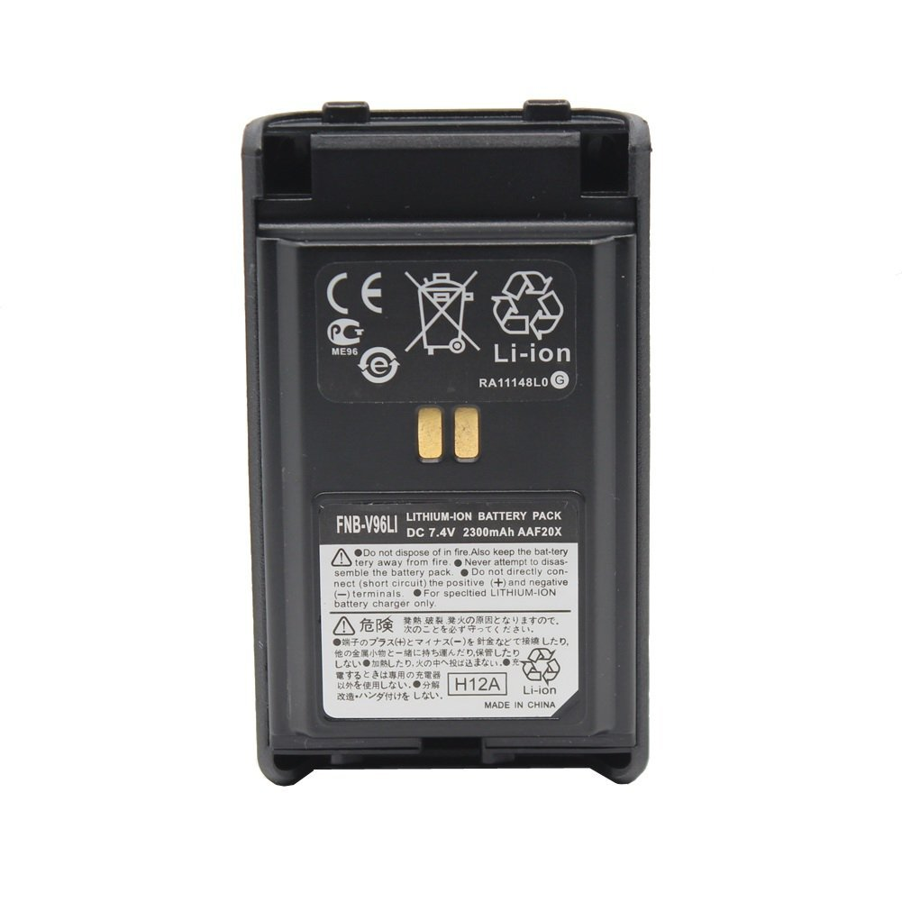 FNB-V96LI FNB-V95LI Lithum-ion Battery Pack 7.4V 2300mAh Replacement Battery for Yaesu Vertex VX-350, VX-351, VX-354