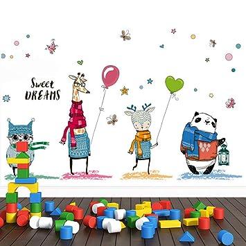 Wandsticker4u Xl Wandtattoo 4 Good Friends Wandbild 140x70 Cm