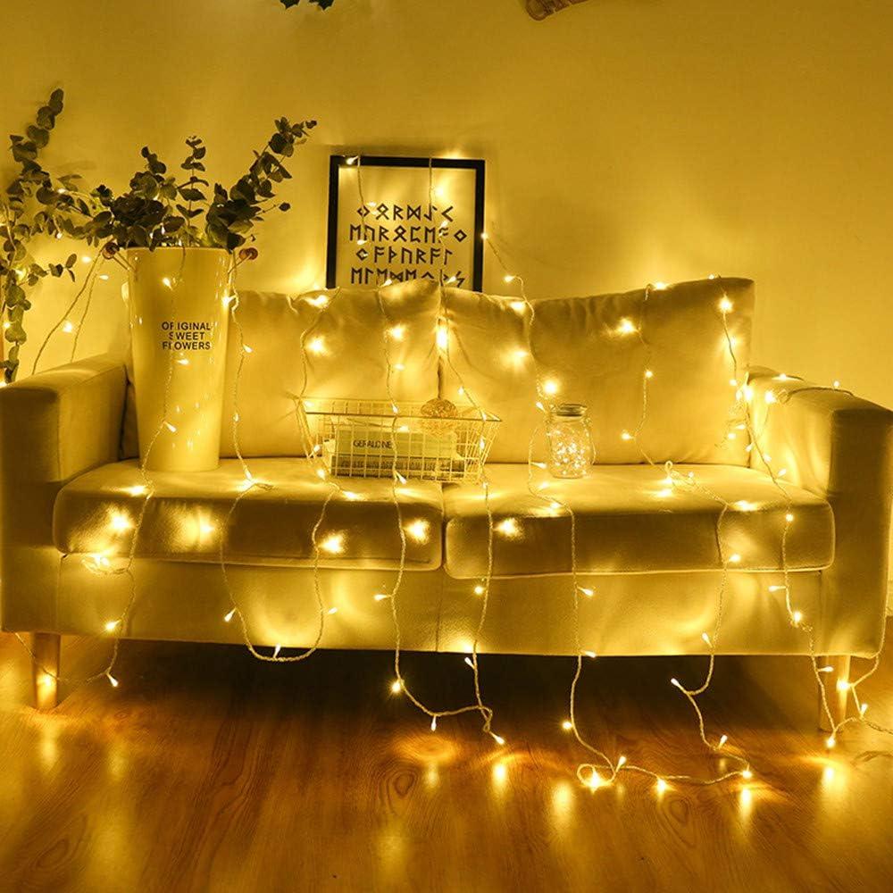 Cadena de luces LED de 4 metros, 40 LED, 220 V, decoración para ...