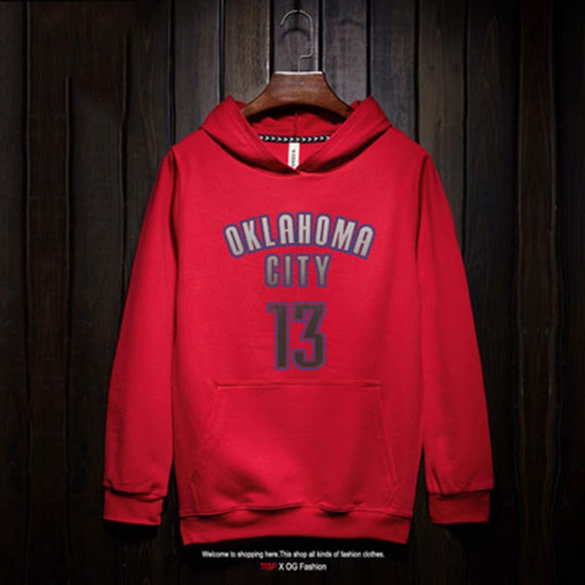 Hoodies Oklahoma City con Capucha Camiseta De Baloncesto del ...