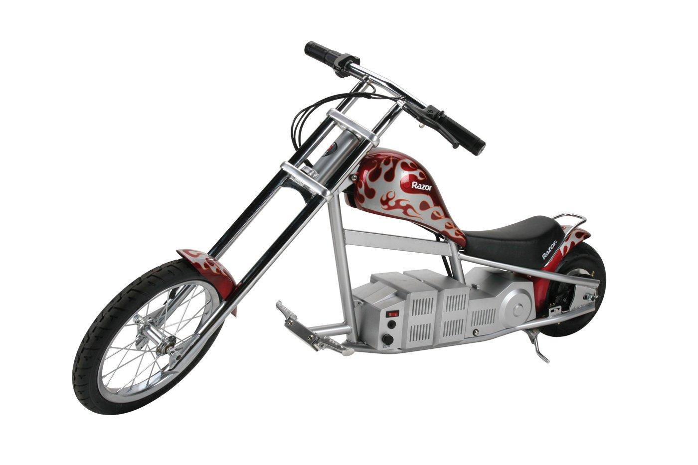 Razor Electric Chopper C300 Wiring Diagram Amazon Mini Bike Red Sports Outdoors 1400x933