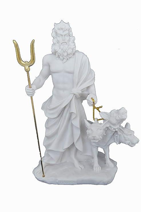 Amazon.com: Estia creaciones Hades Escultura Cerberus griego ...