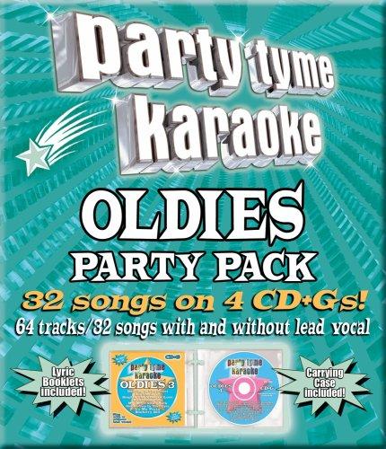 Party Tyme Karaoke - Oldies Party Pack (32+32-song Party Pack) [4 CD] (Karaoke Cd Oldies)