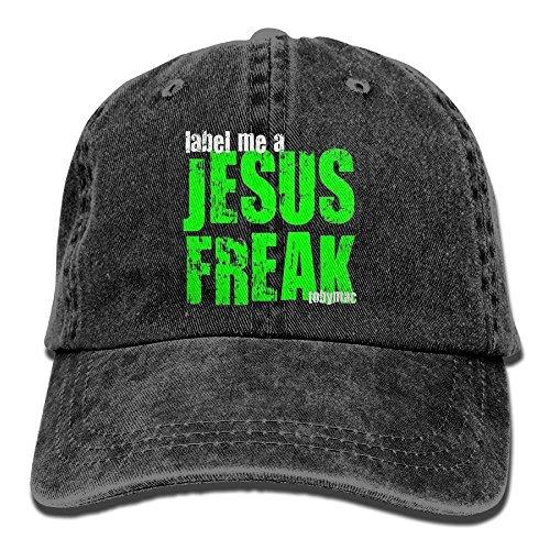 Freak Balls Golf (FUNINDIY Tobymac Label Me A Jesus Freak Logo Cool Adjustable Baseball Cap Mom Dad Hat)