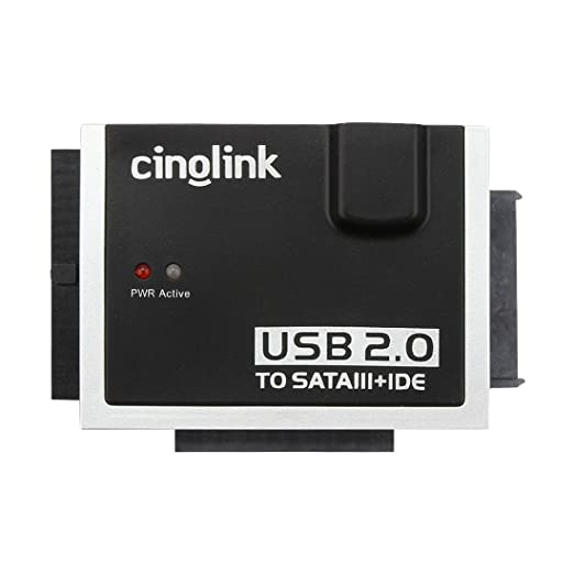 13 opinioni per [CB/BS/CE Certified Power Supplier] Cinolink® USB 2.0 to Sata and IDE Hard Drive