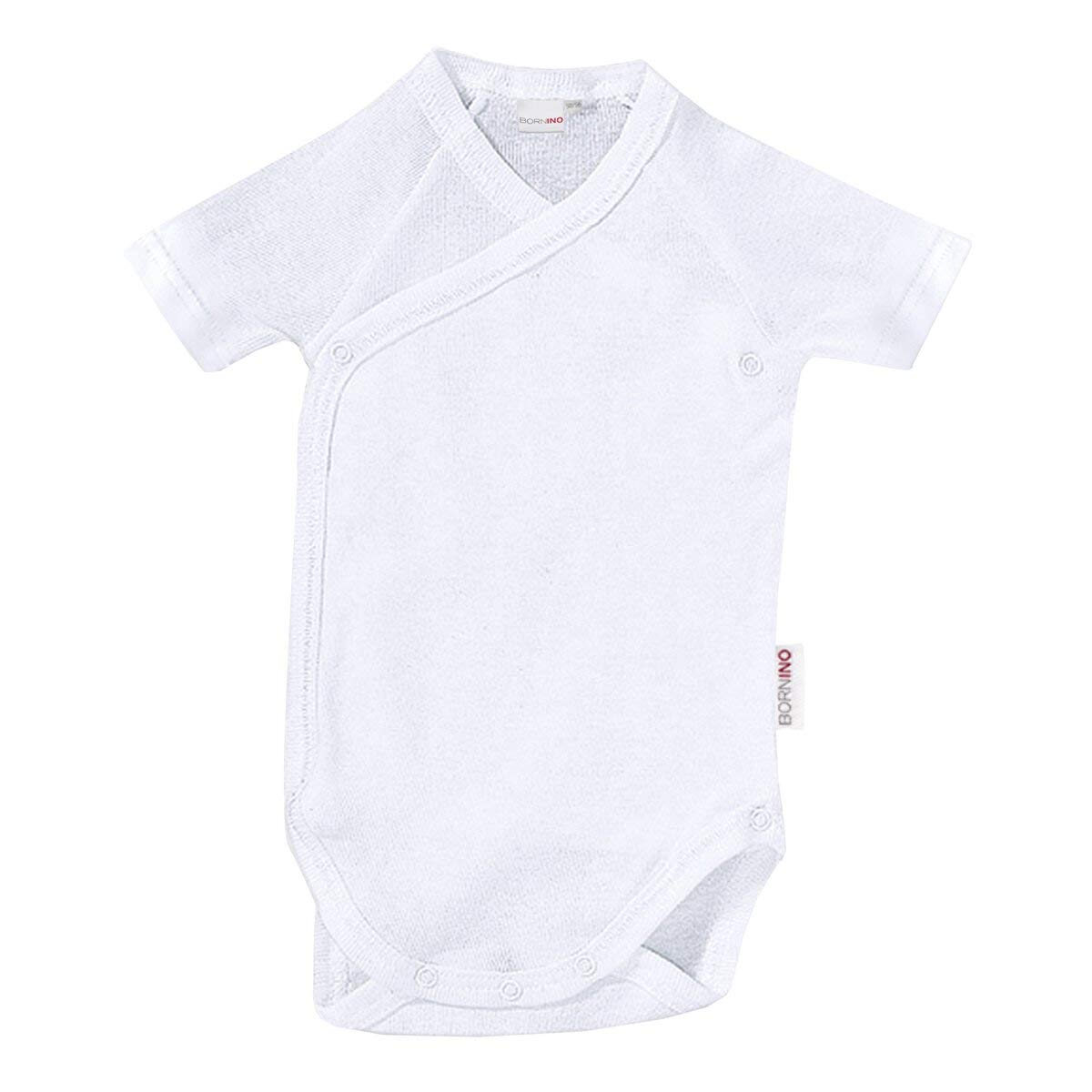 Bornino Body de naissance manches courtes bébé blanc b8d0042bc76