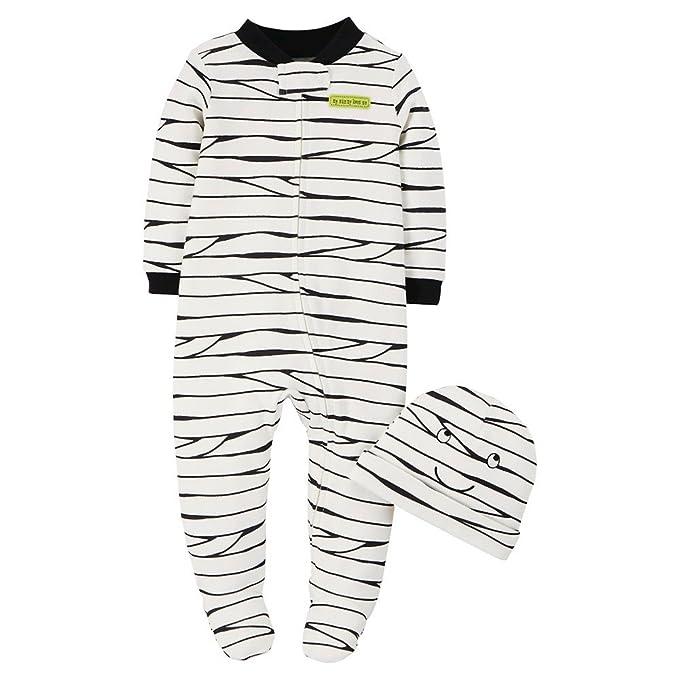 Caters - Pelele - para bebé niño blanco y negro 62 cm : Amazon.es: Ropa y accesorios