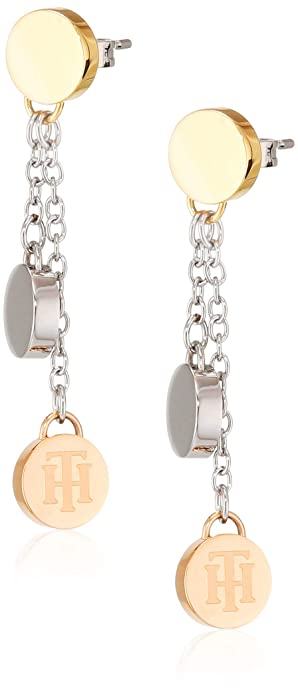 Tommy Hilfiger Jewelry Mujer acero inoxidable Pendiente ...