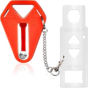 Portable Door Lock Home Apartment Security Hotel Door Security Travel Lock Safe for Bedroom College Dorm Lock Motel AirBnB School Lockdown Door Block Home Locks Devices for Additional Safety