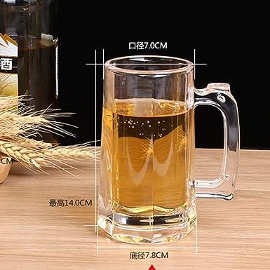 Vaso de vino jarras de cerveza transparentes jarras de cerveza ...