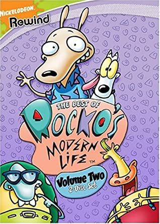 The Best Of Rocko S Modern Life Volume 2 2 Disc Set Amazon Co Uk