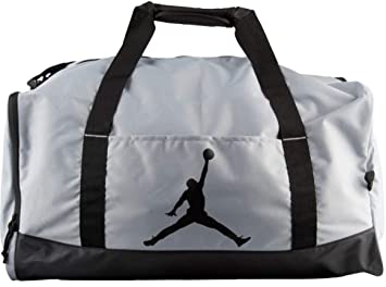 d49547940d8 Image Unavailable. Image not available for. Color  NIKE Air Jordan Jumpman  Duffel Sports Gym Bag Gear Tote Carry On Luggage Wet Dry Pocket