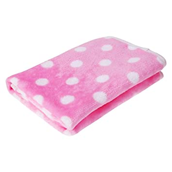 Huihuger Pet Blanket Pet Dog Cat Manta de Terciopelo Soft Warm Sleep Mat para Gatos Cachorros Small Medium Animals Pink (M): Amazon.es: Productos para ...