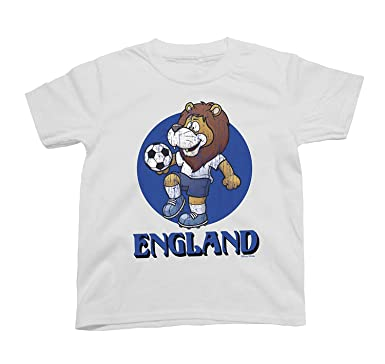 e513dee3 Amazon.com: CHAMTEE Boys Girls T-Shirt England Cartoon Lion World ...
