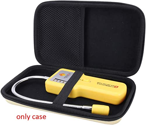 Aenllosi Hard Carrying Case for Techamor Y201 Portable Methane Propane Combustible Natural Gas Leak Sniffer Detector