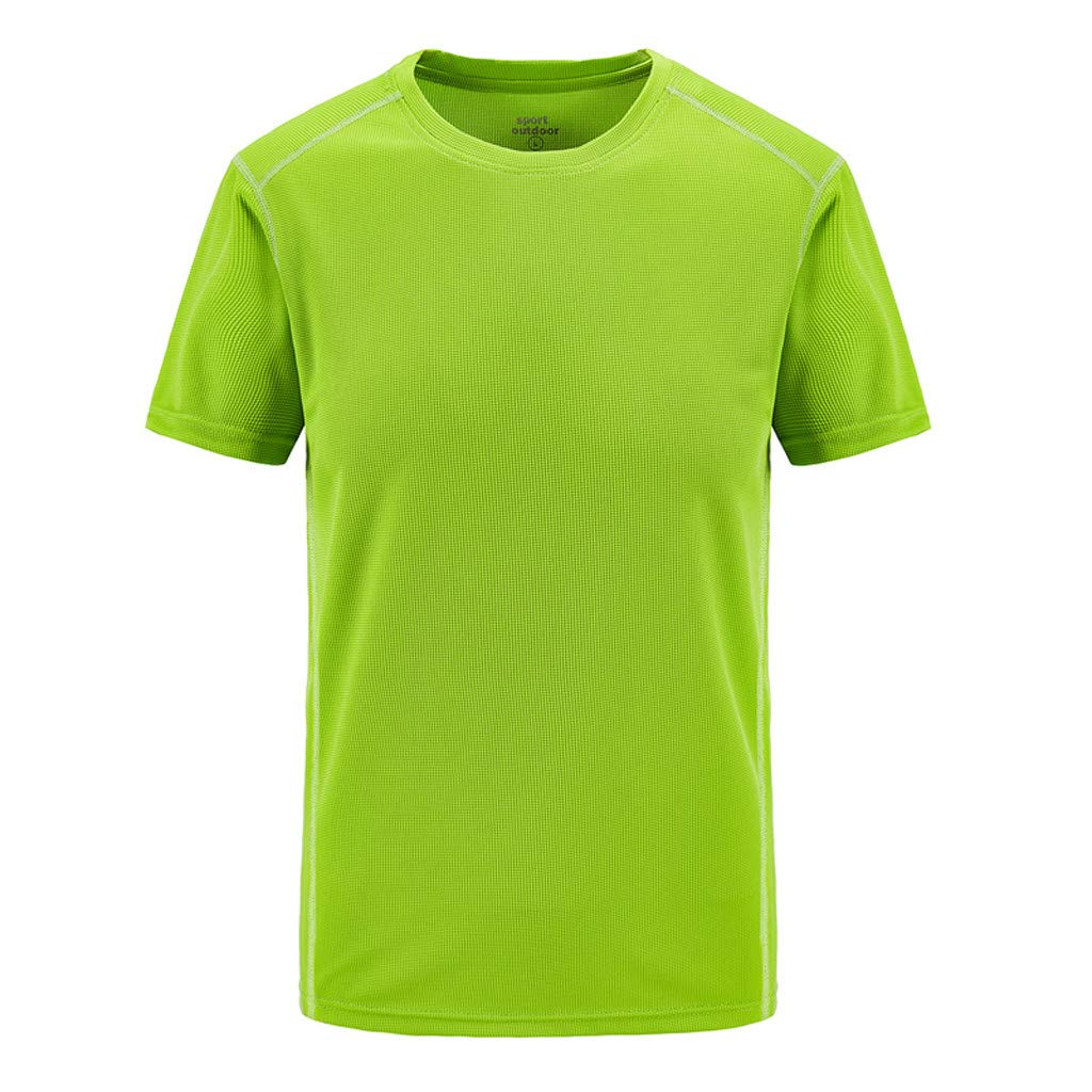 SFE Fashion Shirts,Mens Summer Casual Outdoor T-Shirt Plus Size Sport Fast-Dry Breathable Tops