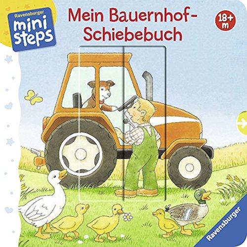 Mein Bauernhof-Schiebebuch: Ab 18 Monaten (ministeps Bücher)