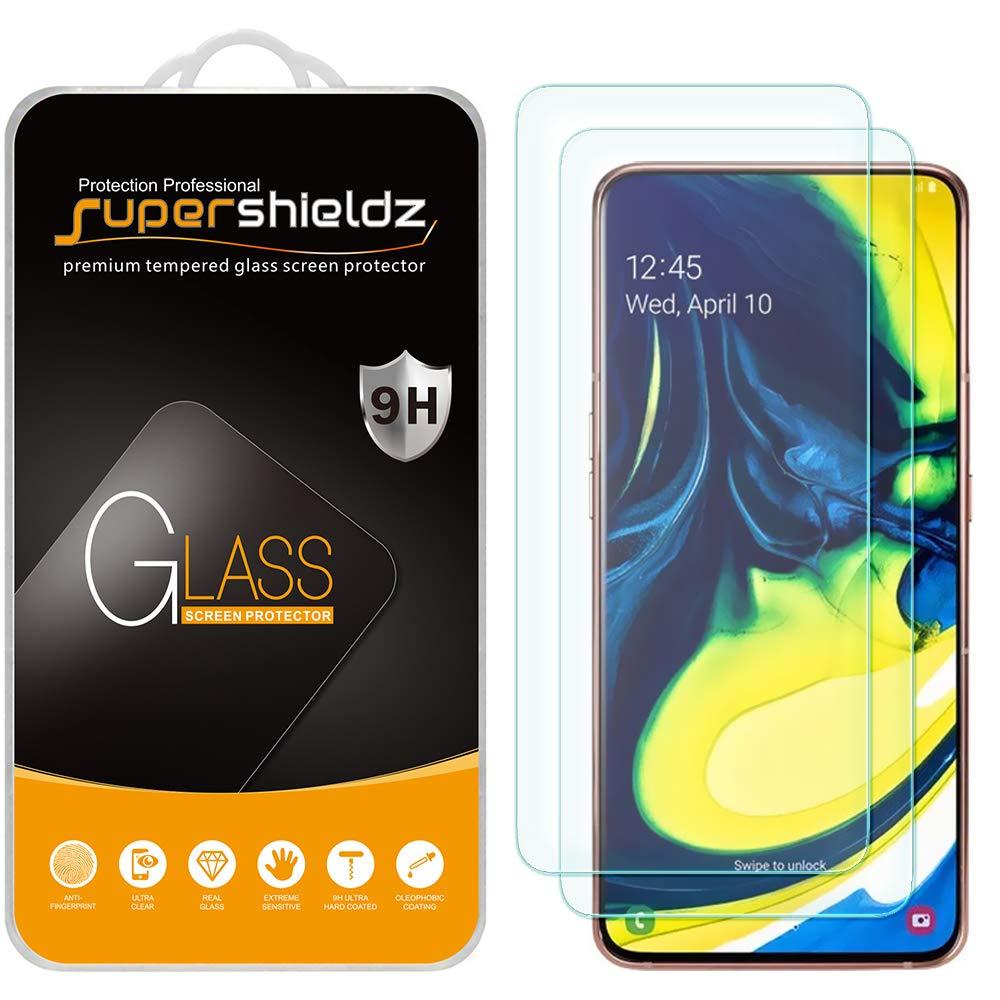 2 Vidrios Templados Para Samsung Galaxy A80 Supershieldz