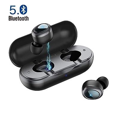 93241d4b6a1 iWALK Wireless Earphone, True Wireless Earbuds Bluetooth V5.0 with Stereo  Sound, Hands