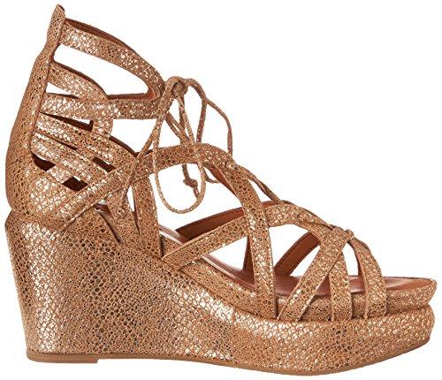 Milda Själar Kvinna Glädje Plattform Sandal Guld