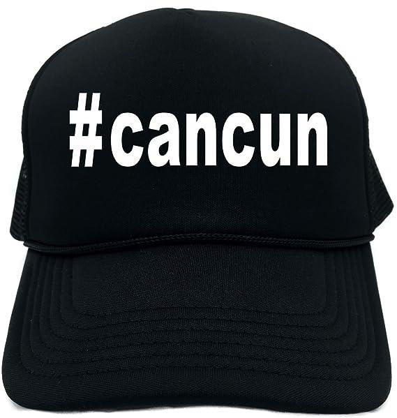 ebfb2925b7e Signature Depot Funny Trucker Hat ( cancun (Hashtag Tee Shirt) Unisex Adult  Foam
