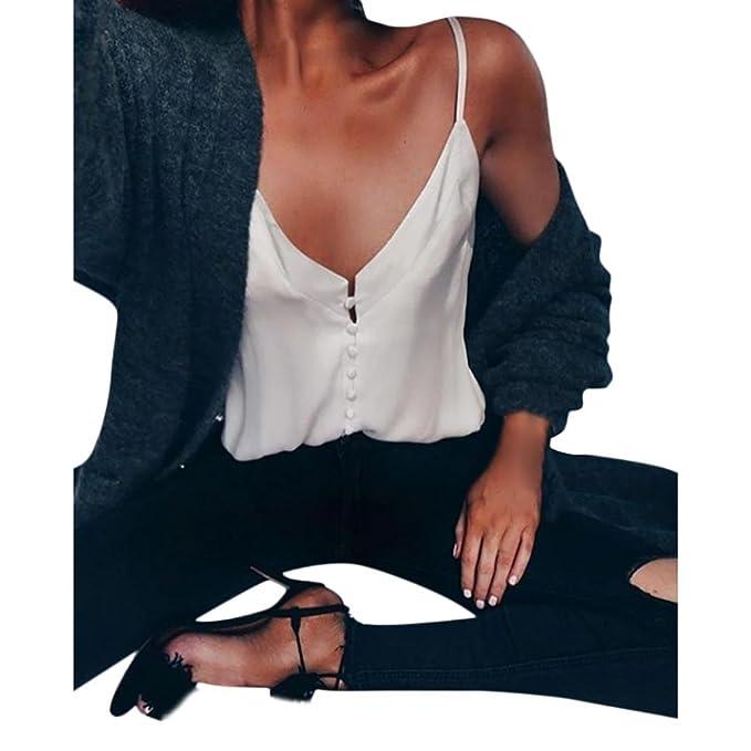 Morwind Crop Top Mujer, Tops de Gasa Mujer Camisetas sin Mangas Yoga Blusa Mujer Verano